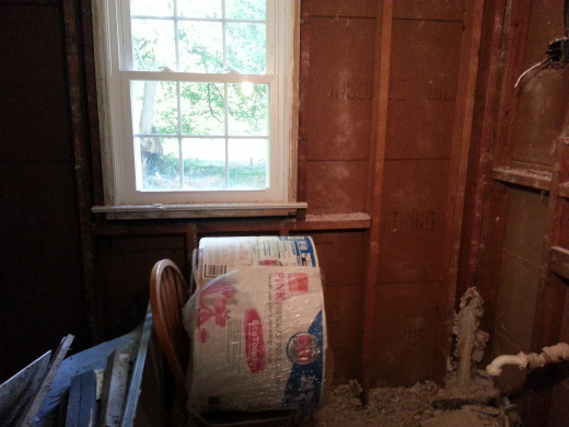 Add insulation to your attic. Additionally, if you rip out any walls to remodel, go ahead and place insulation in those walls. These two things can make a huge difference.