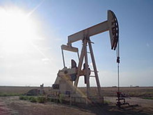 Lubbock, Texas pumpjack