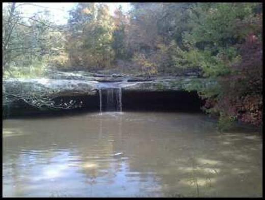 Joy Falls, Joy, Kentucky