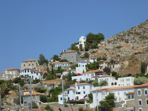 Town in the Aegean Sea