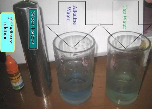 Testing the basicity or acidity of liquids (Photo by Travel Man)