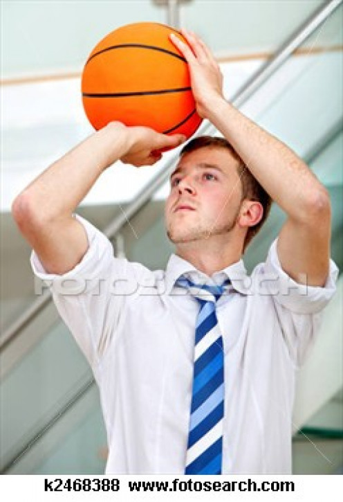 Always place yourself in the shooting guard position