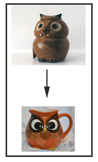 Source: Image of top owl came from ebay, the other from my portfolio.