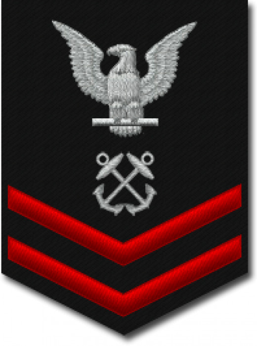 Petty Officer Second Class insignia