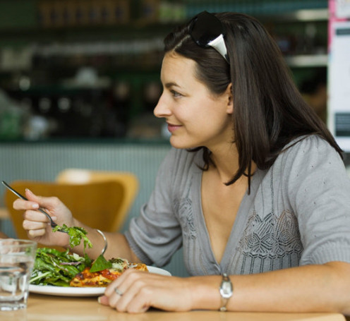 Eat a couple of light and healthy meals a day to boost your metabolic rate!