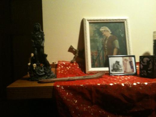 Samhain Ancestor Altar