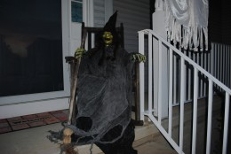 Haunted Halloween Props - Witch