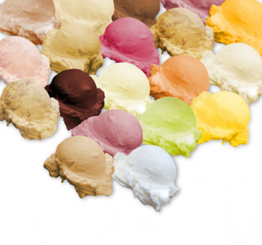 50 Flavors of Ice Cream