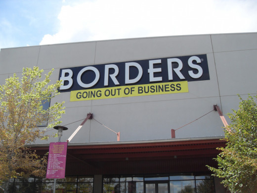 Borders Book Store Going out of Business