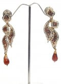 Classy Topaz Earrings by Cbazaar