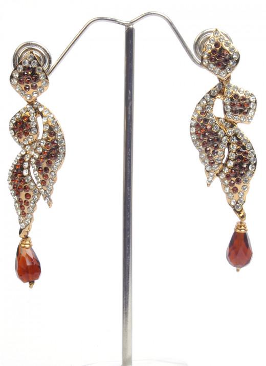 Classy Topaz Earrings by Cbazaar