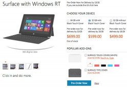Microsoft Surface Price & Specs