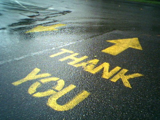 Thank You message (Photo Credit: http://www.searchenginepeople.com/)