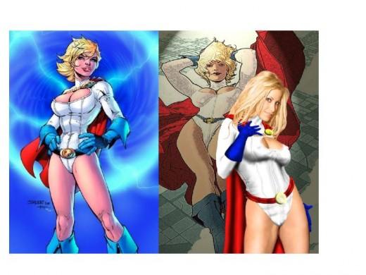 Power Girl / Cosplay Model
