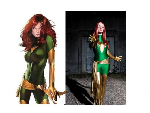 Phoenix / Cosplay Model