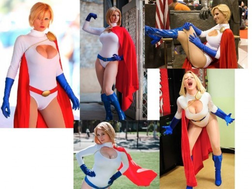 Power Girl Cosplay Costumes