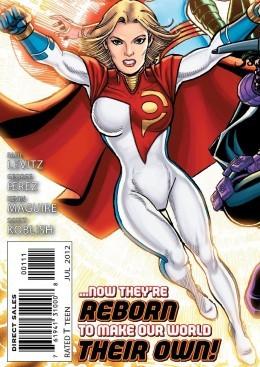 Power Girl New 52 Costume Update