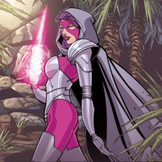 Psylocke Original Pink and Purple Armor