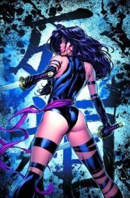 Psylocke is Lady Mandarin