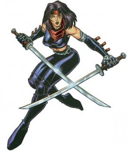 Psylocke Rocker Ninja