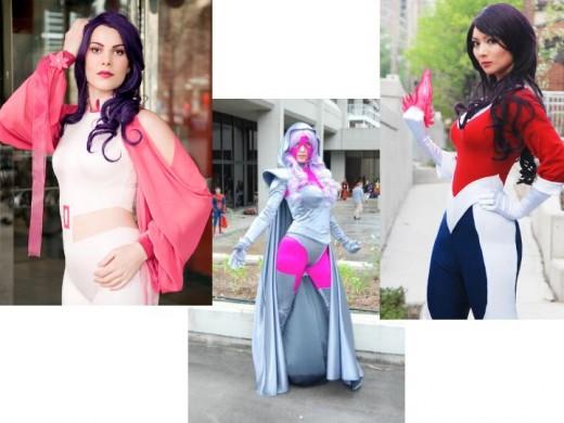 Psylocke Cosplay Costumes