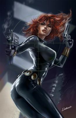 Classic Black Widow Costume