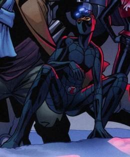 Monica Chang as Black Widow in Ultimate Avengers