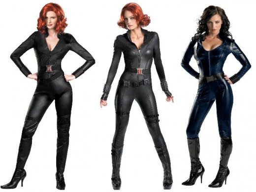 Black Widow Halloween Costumes