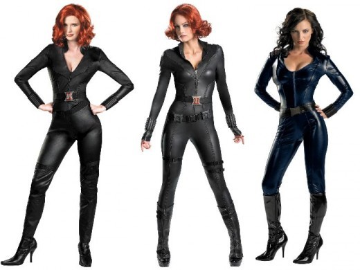 How to make a marvel black widow costume - photo#21