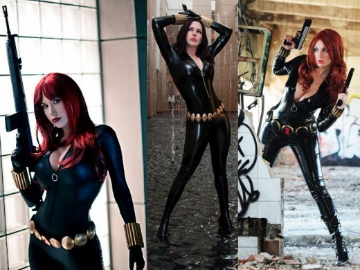 Black Widow Cosplay Costumes