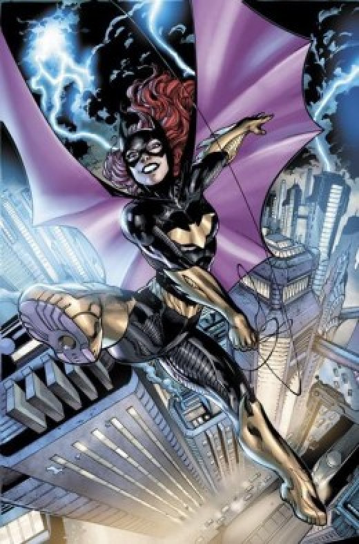 Barbara Gordon New 52 Batgirl Costume