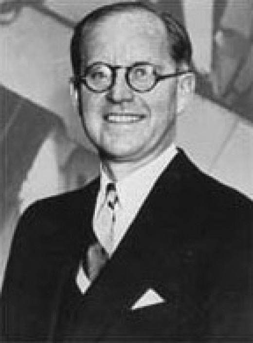 Joseph P. Kennedy's Official government portrait as the first Commissioner of the SEC