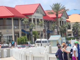 The Grand Cayman's Shopping Districts.  Image Is Property of ComfortB.