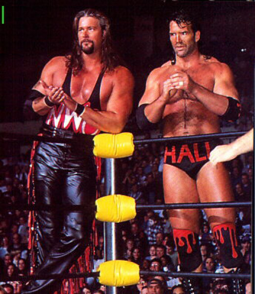 The Outsiders (Kevin Nash and Scott Hall)