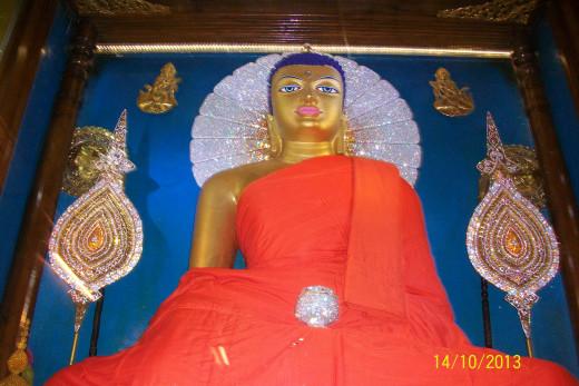 Budha Statue at Bodh Gaya
