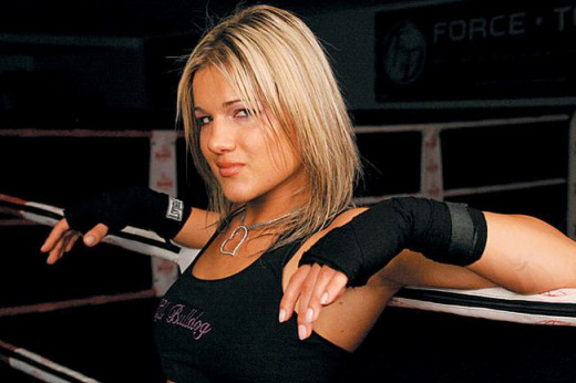 Felice Herrig - Kickboxing and MMA