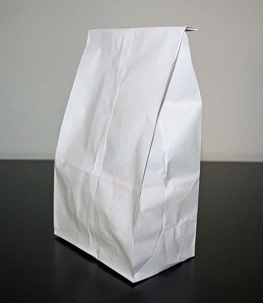 Paper bag for panic attack - alleviates but is not a cure
