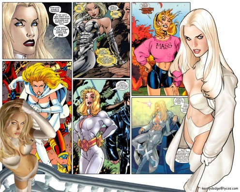 Emma Frost Costume History