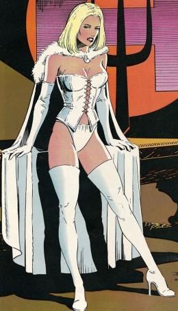 Emma Frost Original White Queen Costume