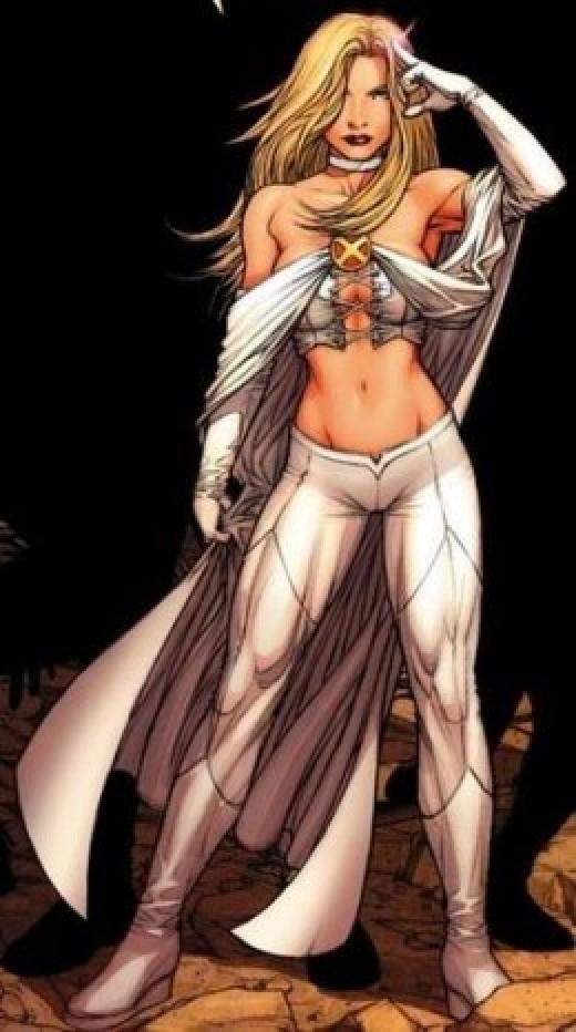 Emma Frost X-Men Costume Bodice