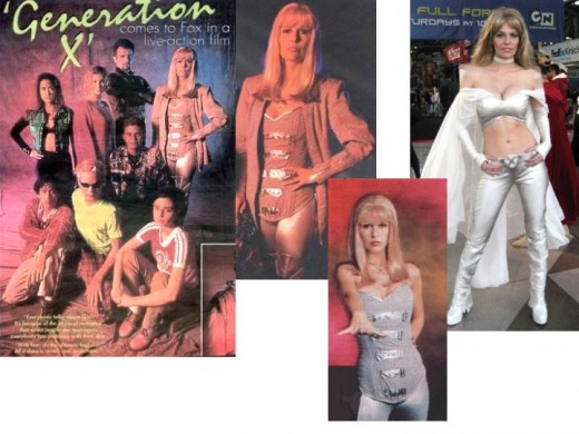 Generation X poster, Finola Hughes as Emma Frost.