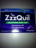 Product Review for ZzzQuil Nighttime Sleep Aid