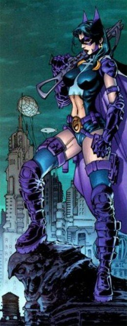 Jim Lee Huntress Costume