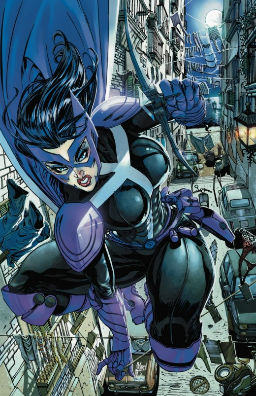 Huntress New 52 Costume