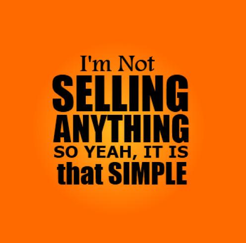 not selling simple honest