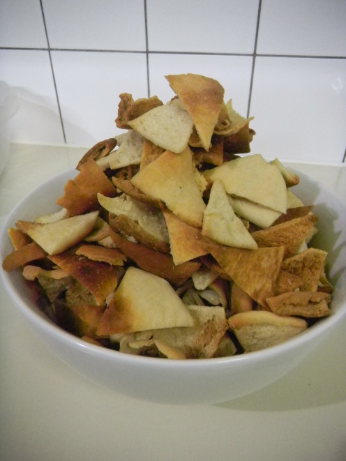 Make your owh healthy chips