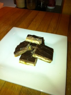 Mock Skor Bars - Yummy Dessert for a Crowd