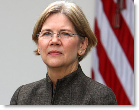 Elizabeth Warren. About as Native American as a jug of milk.
