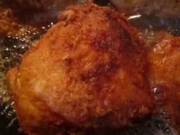 Fried chicken thigh--my favorite!
