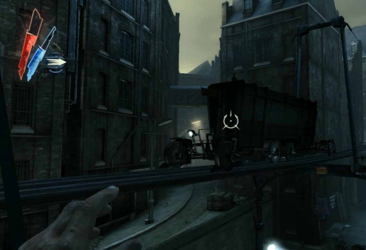 Dishonored take a train and get out of the Flooded District
